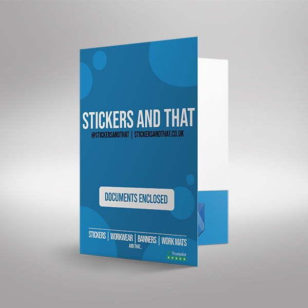 Branded Document folders