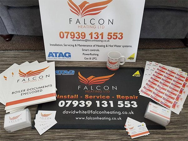 Falcon Heating's Trade Pack