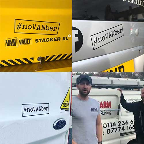 noVANber Stickers