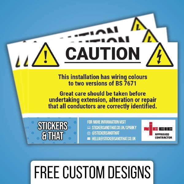 Branded Caution Labels