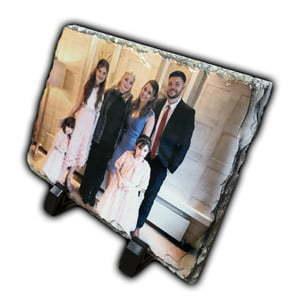 Personalised photo slate gift
