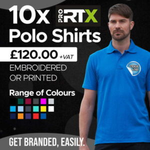 Embroidered Polo Shirt Bundle.