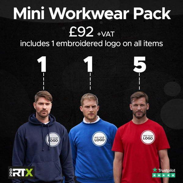 Mini Workwear t-shirt Bundle