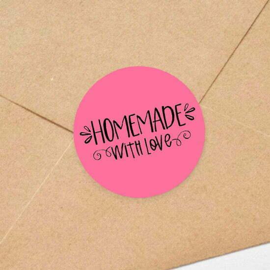 Custom Envelope Seal Stickers