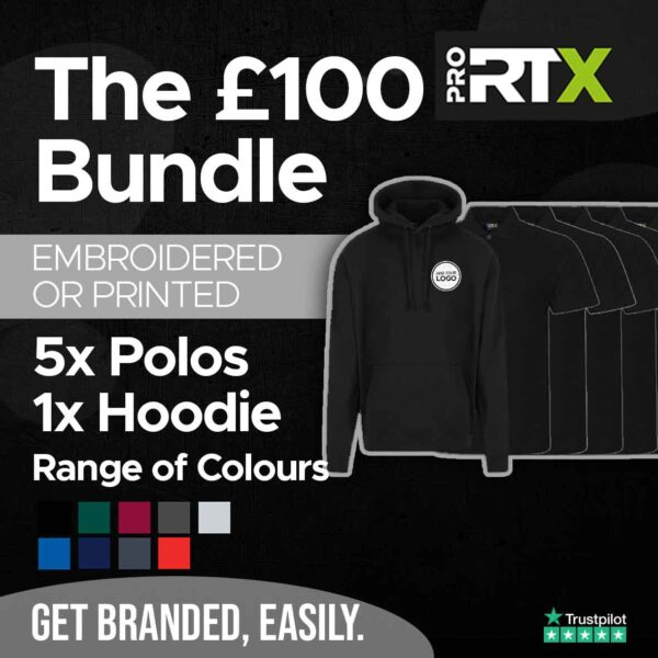 The £100 Bundle example 1 Stickers and That