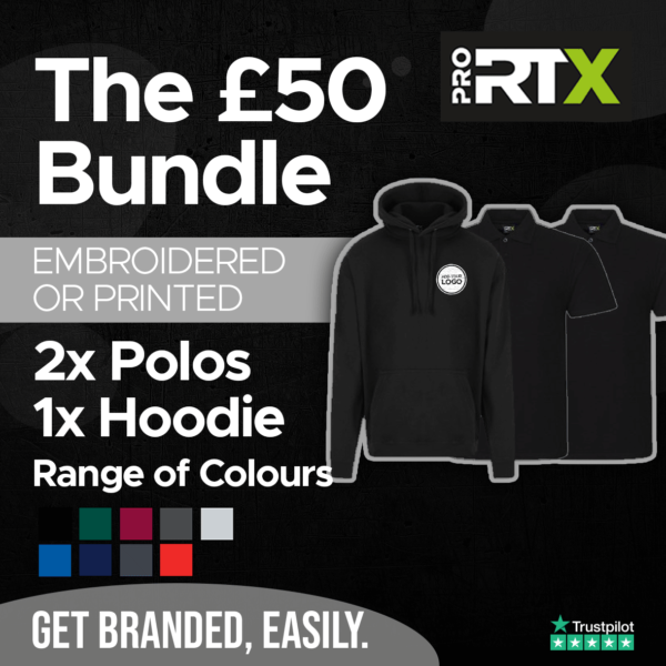 The £50 Bundle example 1 Stickers and That