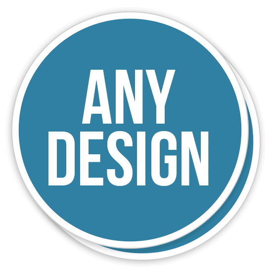 Custom Made Circle Stickers