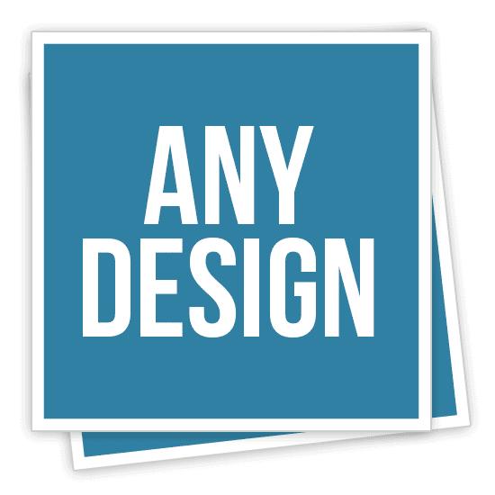 Custom Made Square Stickers