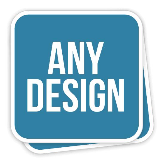 Custom Rounded Corner Stickers