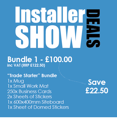 Installer Bundle 1 example 1 Stickers and That